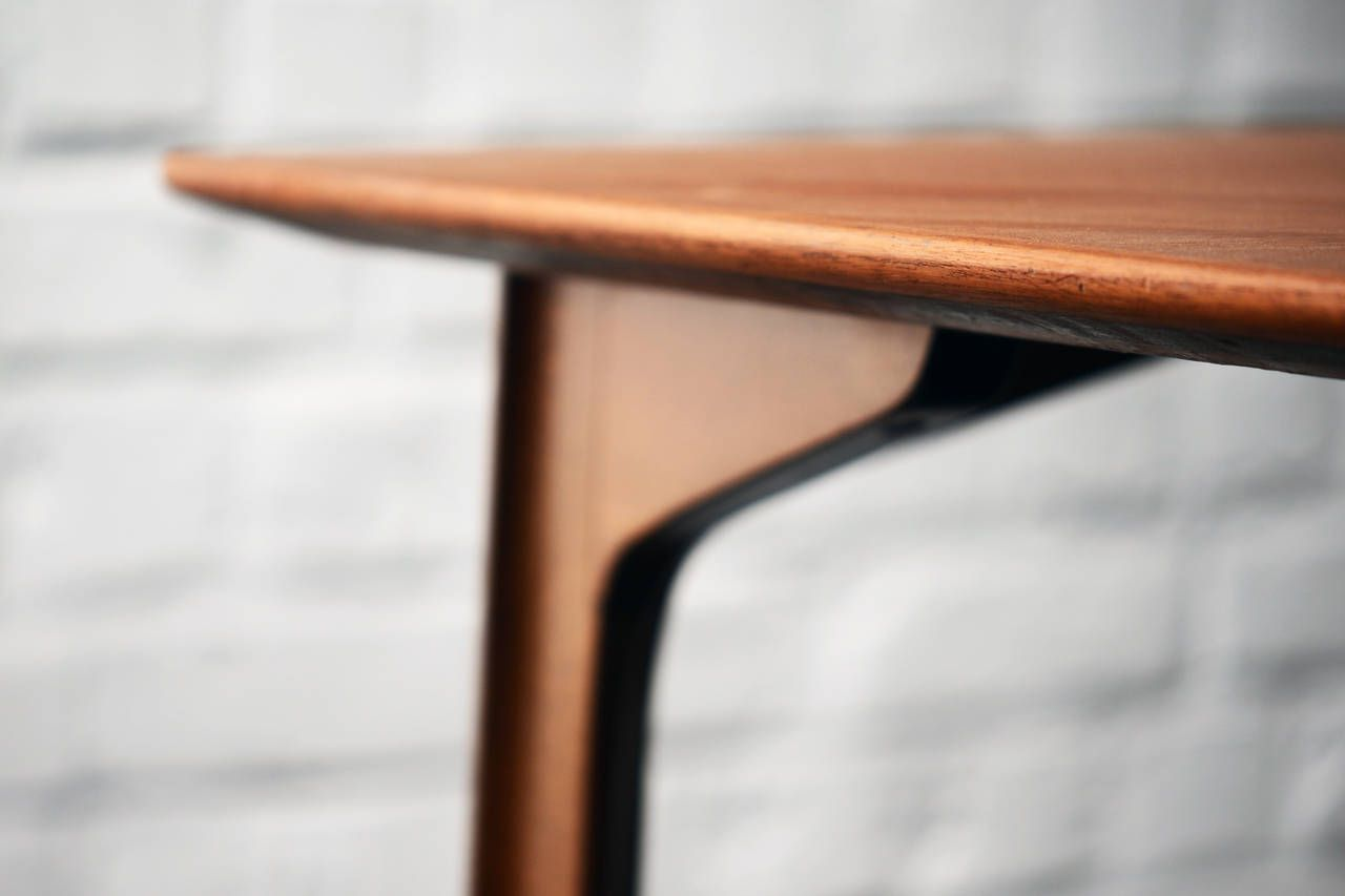 Teak Grand Prix Table by Arne Jacobsen, 1957 for sale at Pamono