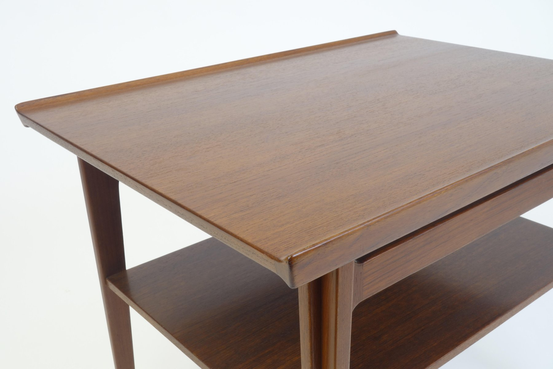 Mid Century Diplomat Series Side Table by Finn Juhl for France