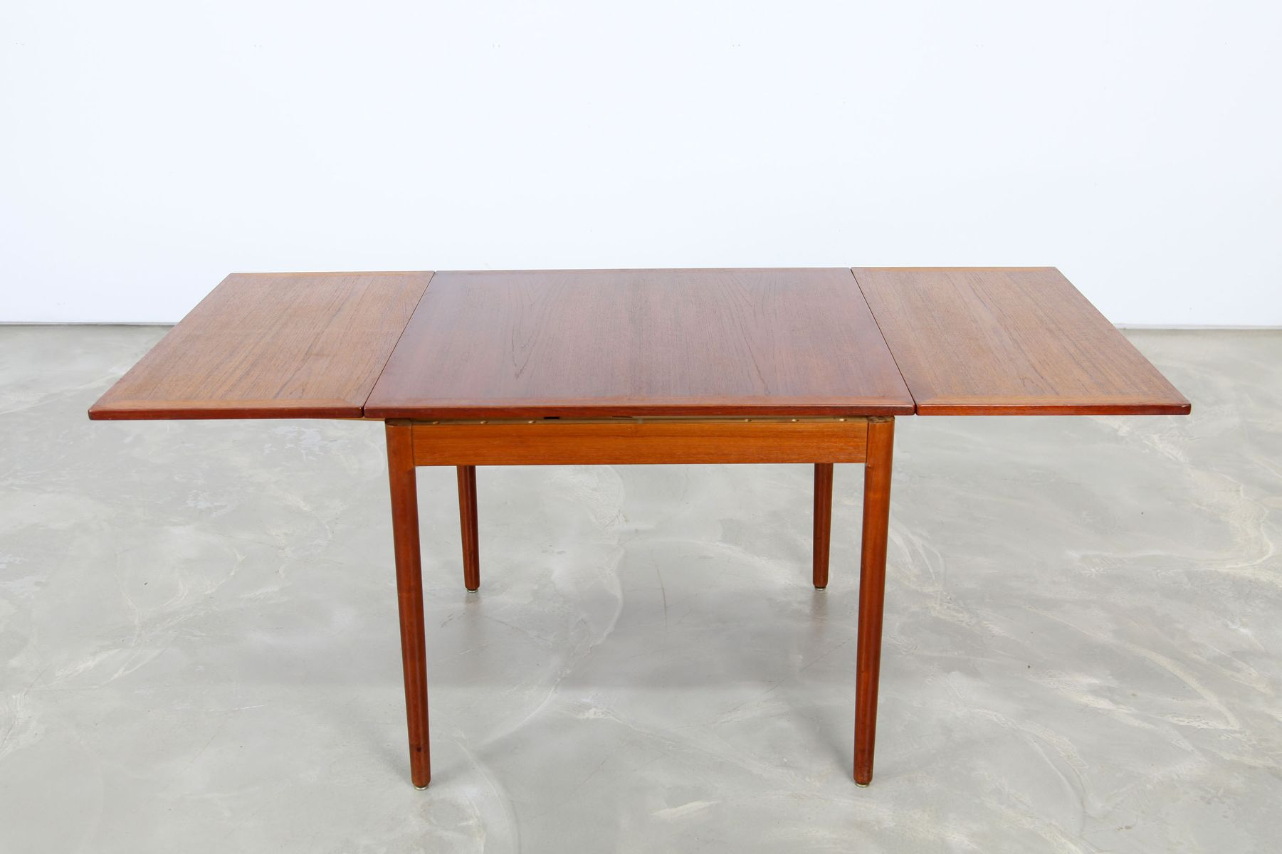 danish teak extendible dining table 1960s for sale at pamono