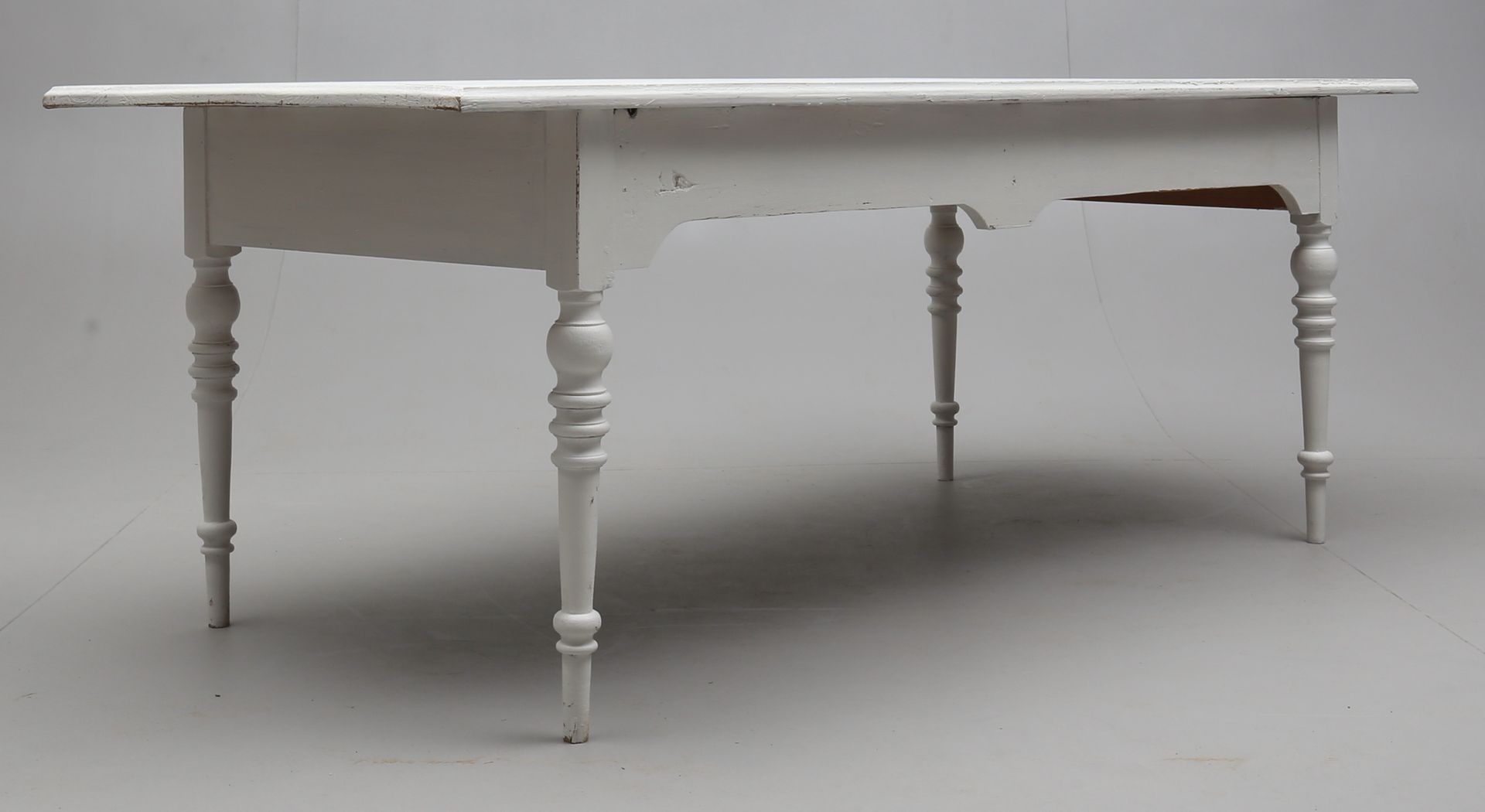large antique french dining table for sale at pamono