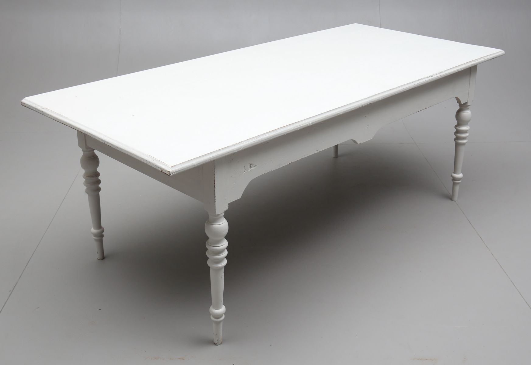 Grande table de salle manger antique en vente sur pamono for Table de salle a manger grande taille