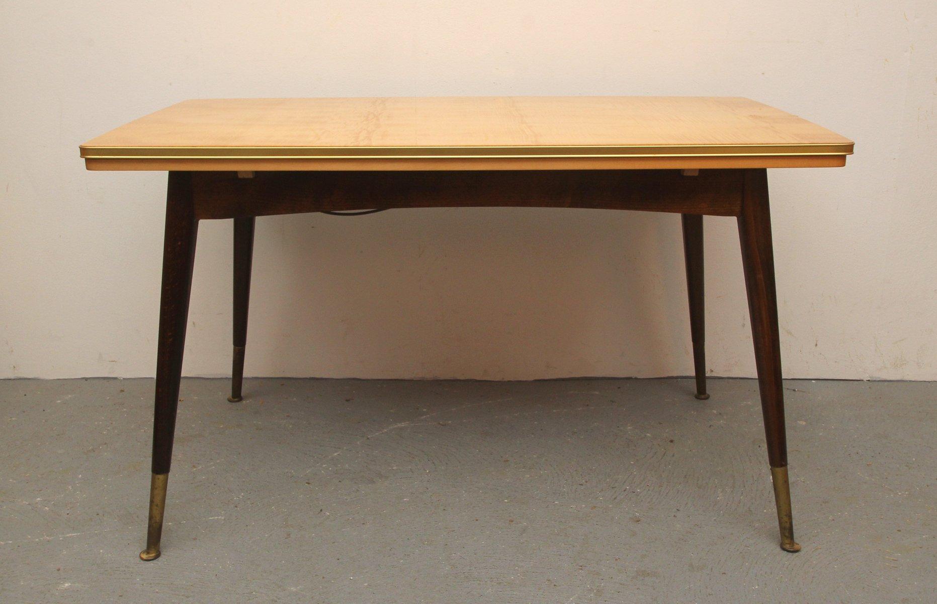 h henverstellbarer deutscher cocktail tisch 1950er bei pamono kaufen. Black Bedroom Furniture Sets. Home Design Ideas