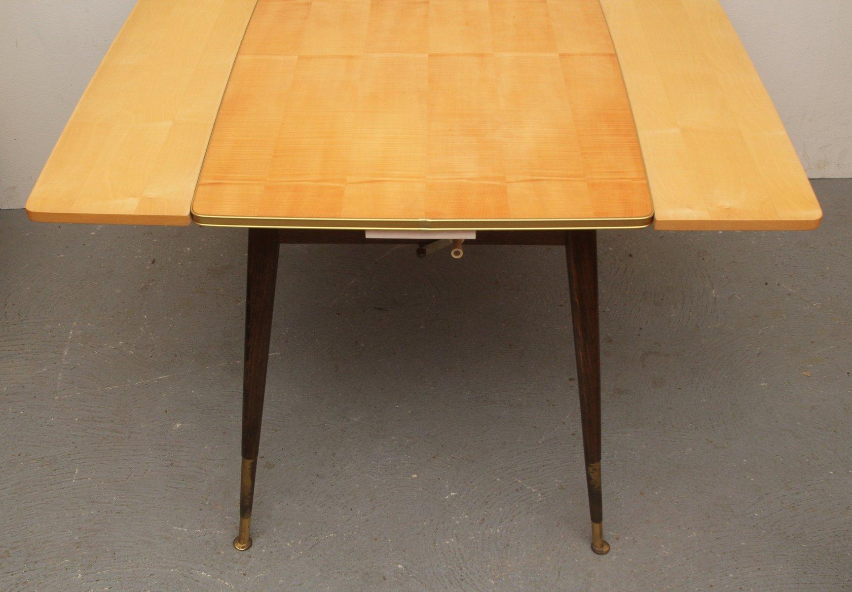h henverstellbarer deutscher cocktail tisch 1950er bei. Black Bedroom Furniture Sets. Home Design Ideas