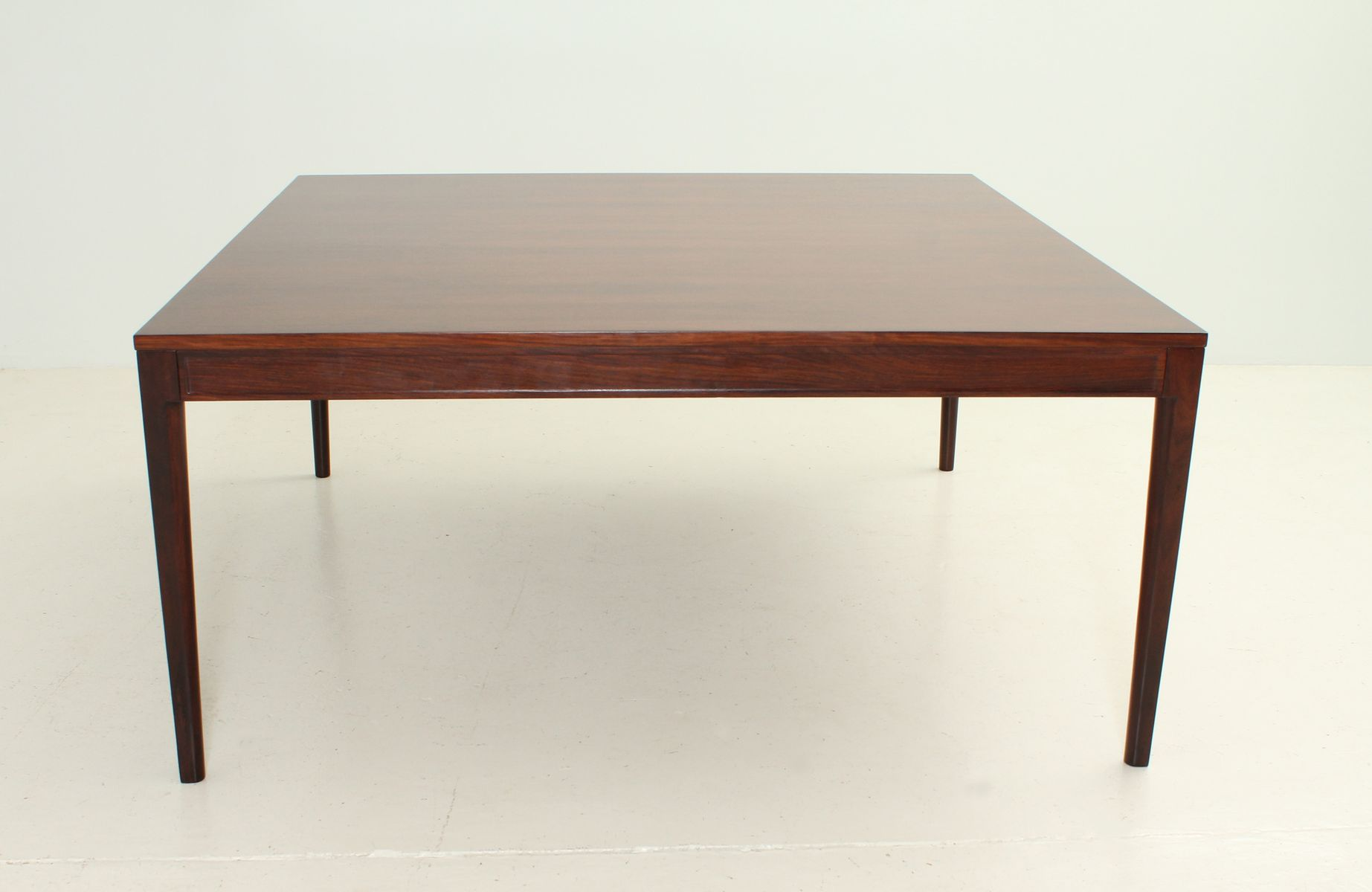 Square Diplomat Dining Table in Rosewood by Finn Juhl for sale at