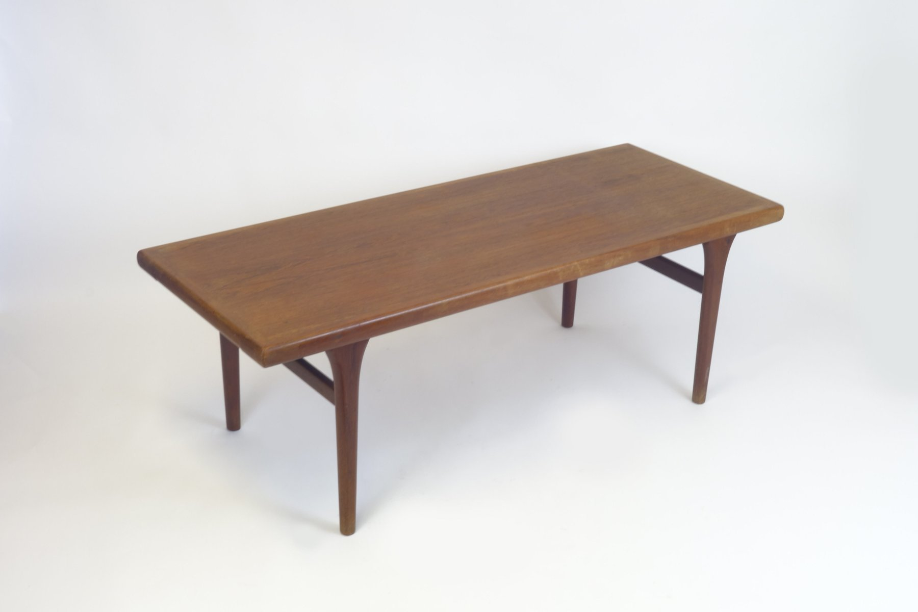 Elegant Mid Century Danish Teak Side Table By Johannes Andersen For PBS