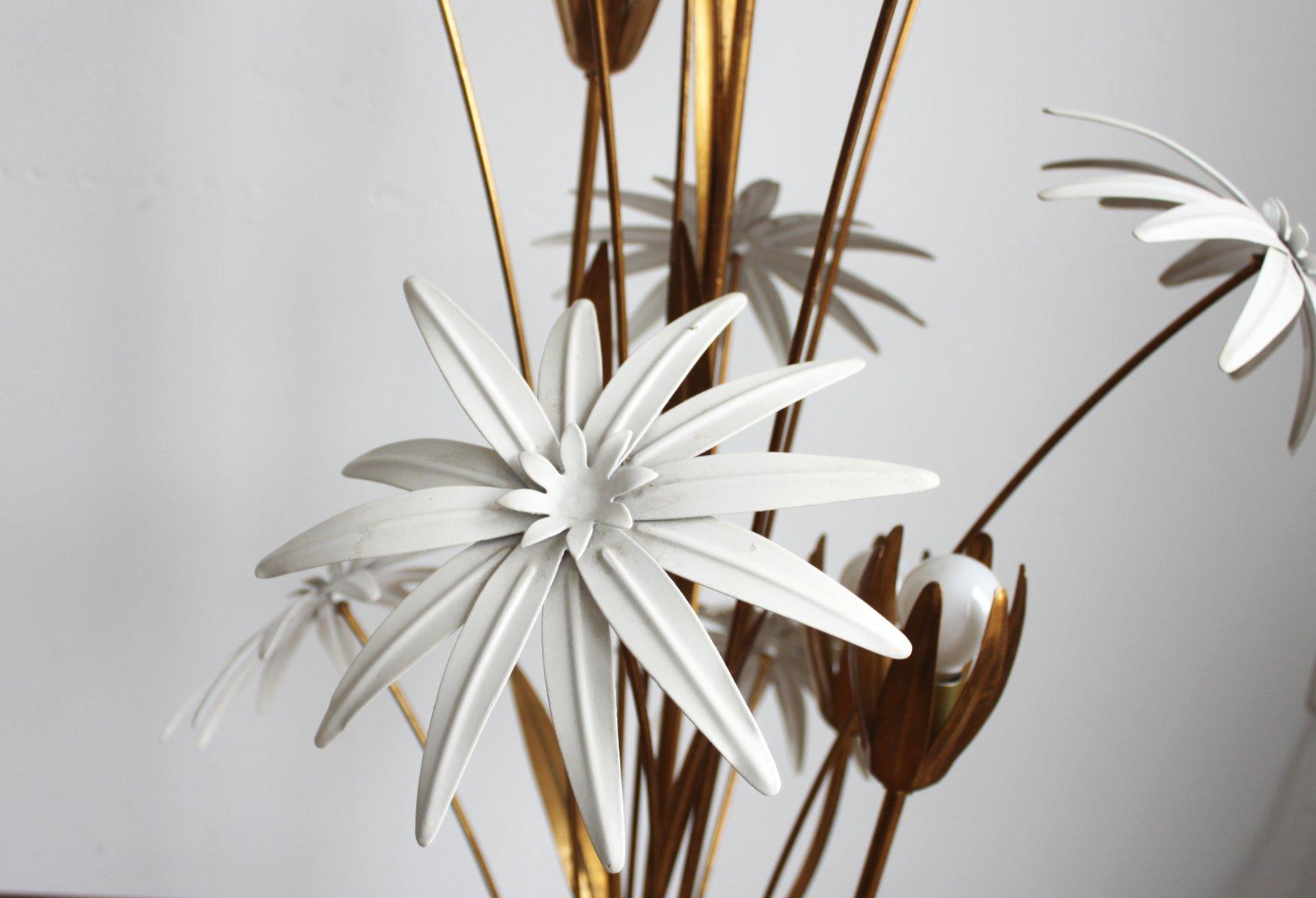 lampadaire fleur en m tal 1960s en vente sur pamono. Black Bedroom Furniture Sets. Home Design Ideas
