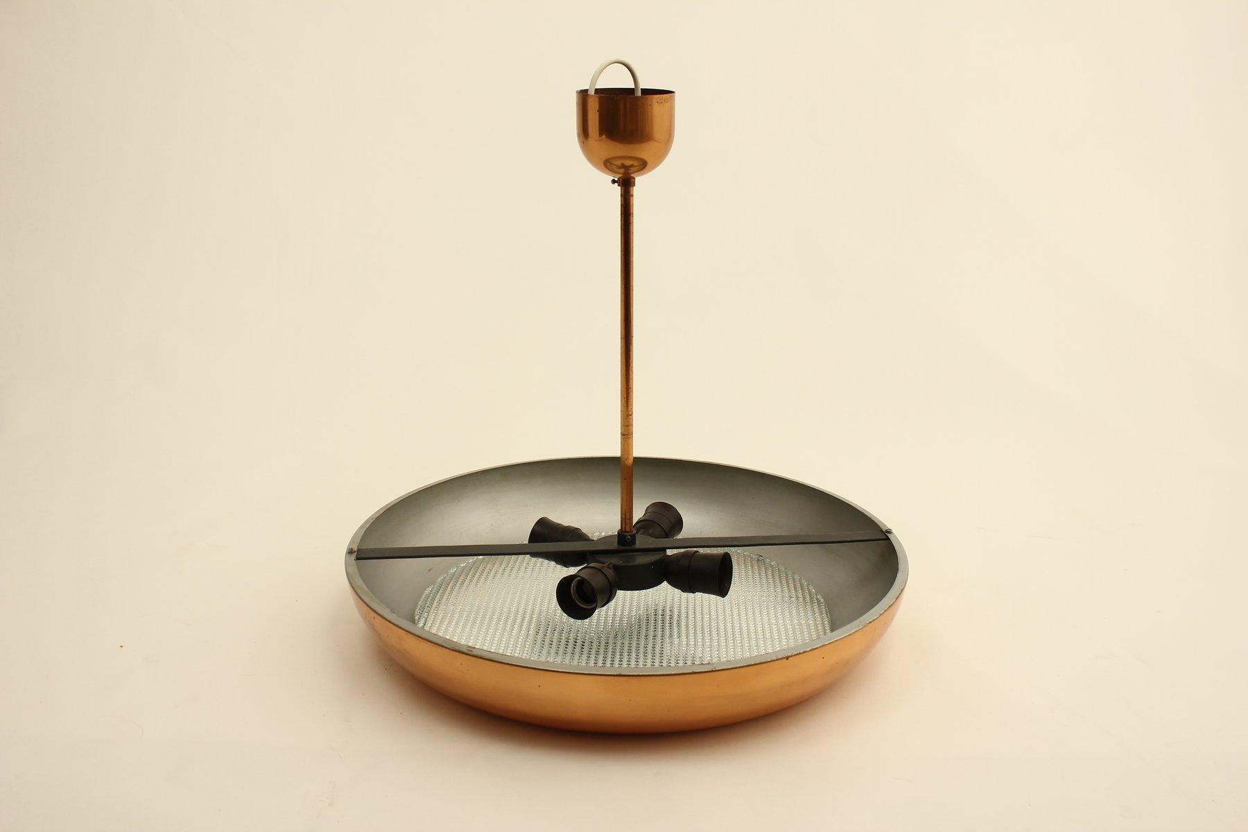 tschechische deckenlampe im bauhaus stil von josef hurka f r napako 1930er bei pamono kaufen. Black Bedroom Furniture Sets. Home Design Ideas