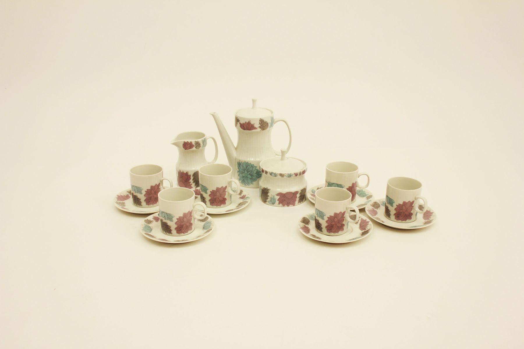 Vintage Porcelain Coffee Set By Jaroslav Je Ek For Sale At