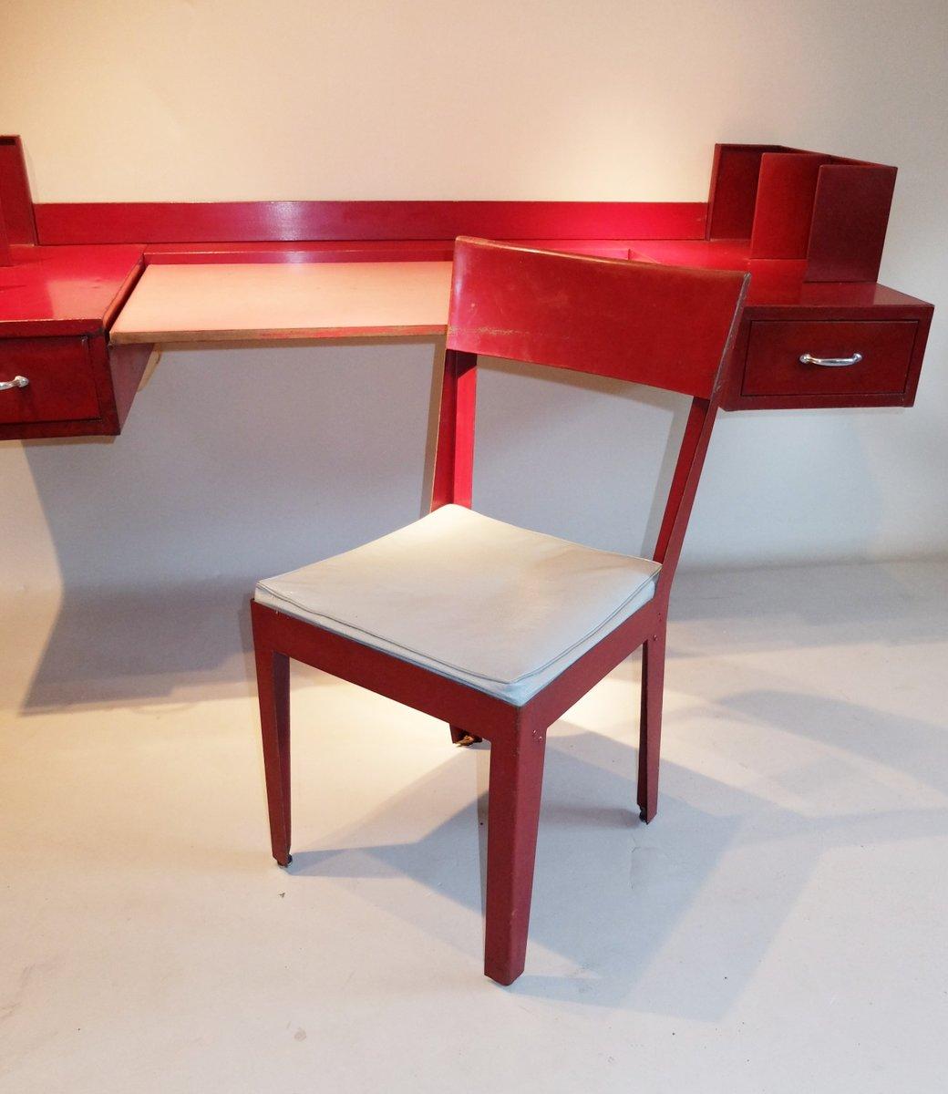 chaise et bureau par jean prouvé & jules leleu, 1936 en vente sur ... - Chaise Jean Prouve Prix