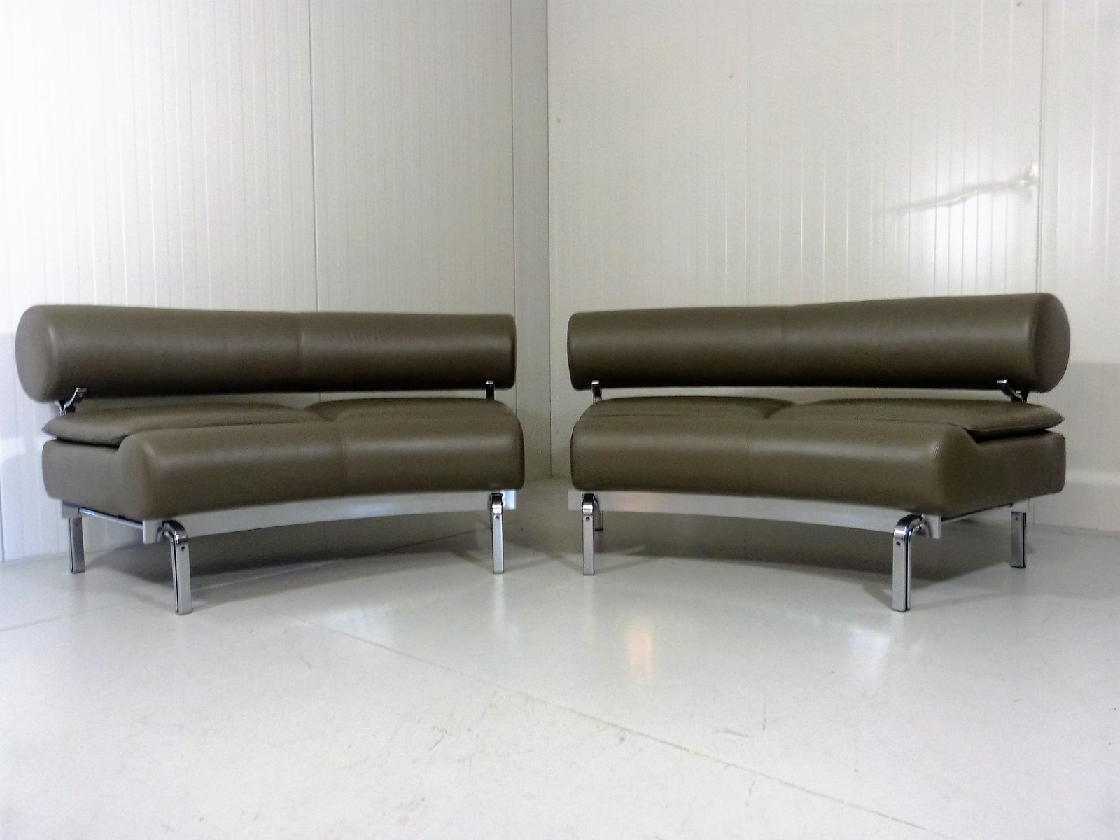Two Seater Sofas by Horst Brüning for Kill International 1960s