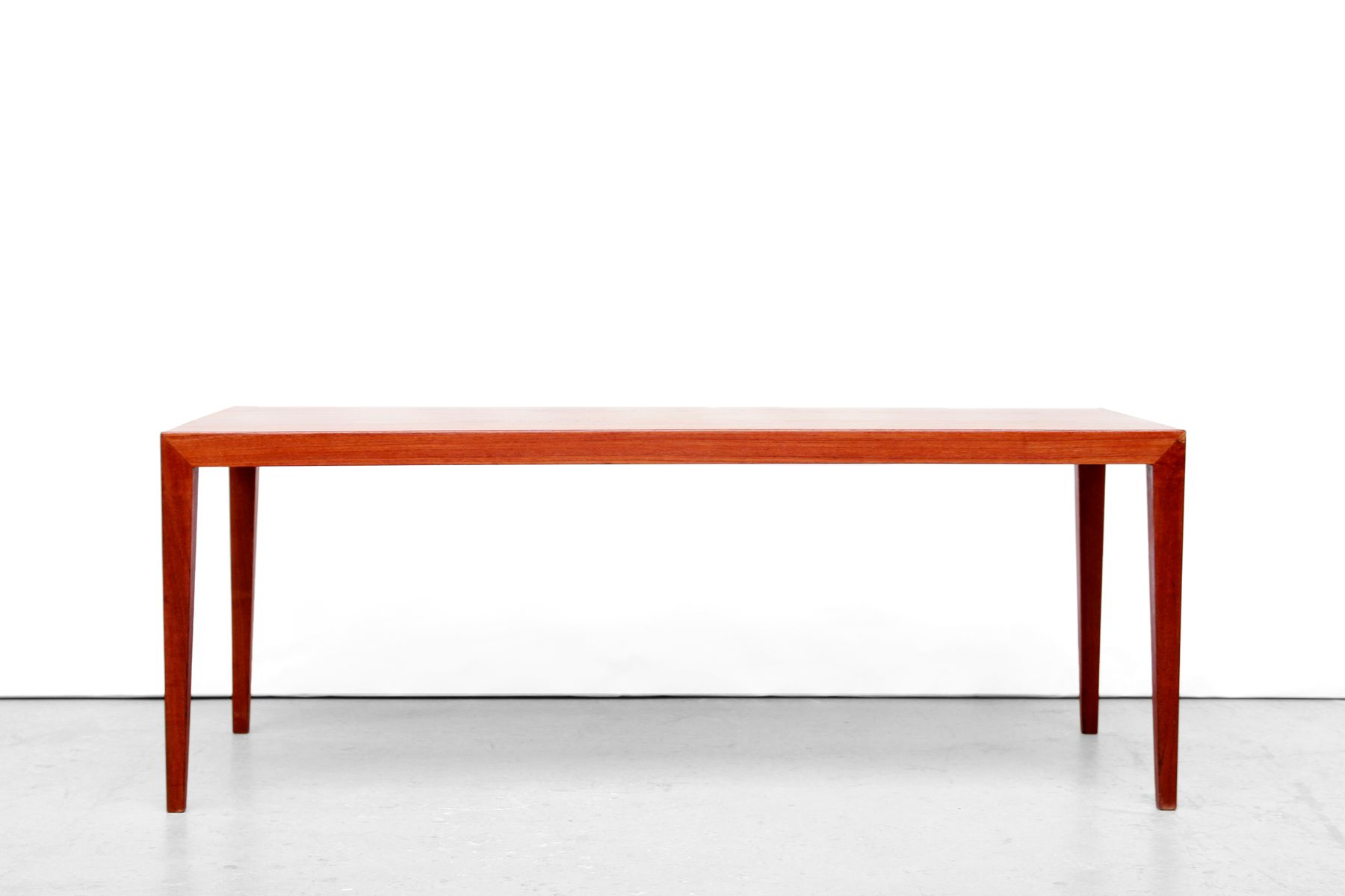 Danish Teak Coffee Table By Severin Hansen For Haslev Mobelfabrik 1950s For Sale At Pamono