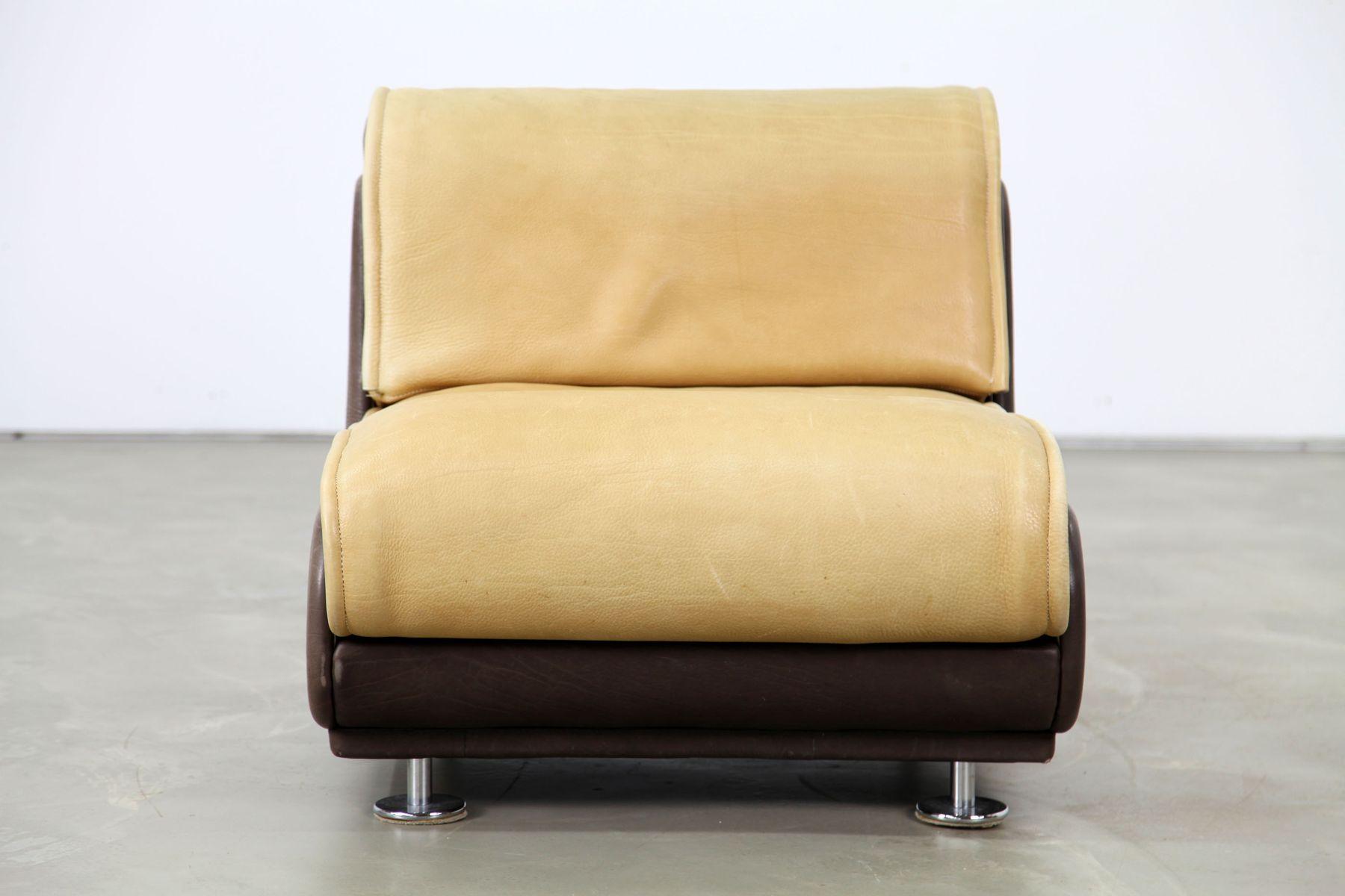 sessel aus nackenleder von de sede 1970er bei pamono kaufen. Black Bedroom Furniture Sets. Home Design Ideas
