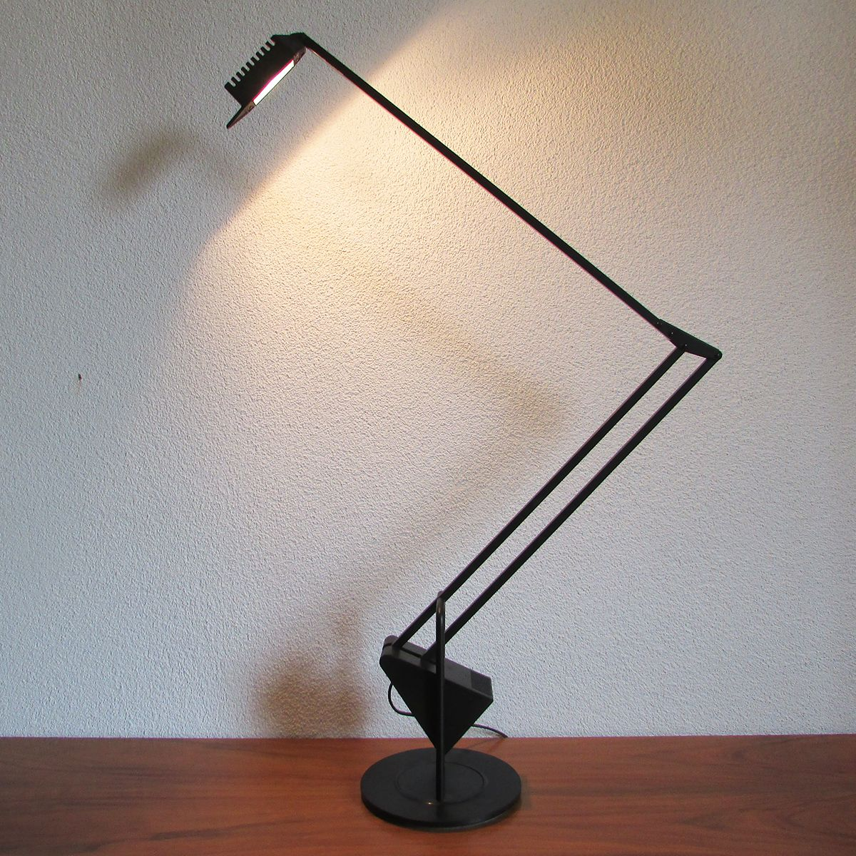 Black Flamingo Desk Lamp By Fridolin Naef For Luxo For