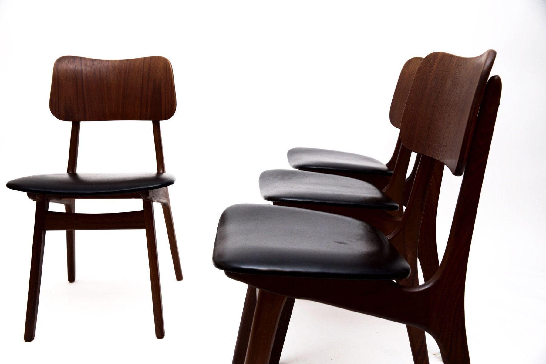 Teak Dining Chairs by Ib Kofod Larsen for Christensen and Larsen