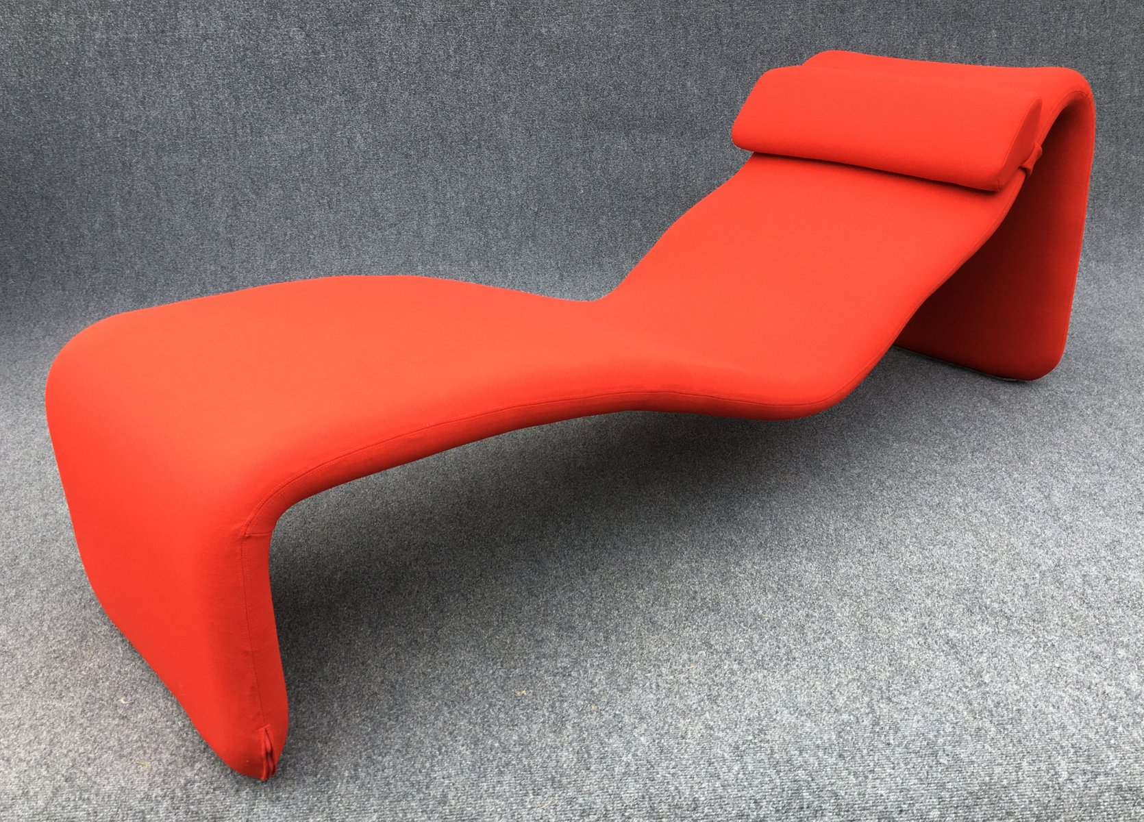 red djinn chaise lounge by olivier mourgue for airborne s for  - red djinn chaise lounge by olivier mourgue for airborne s
