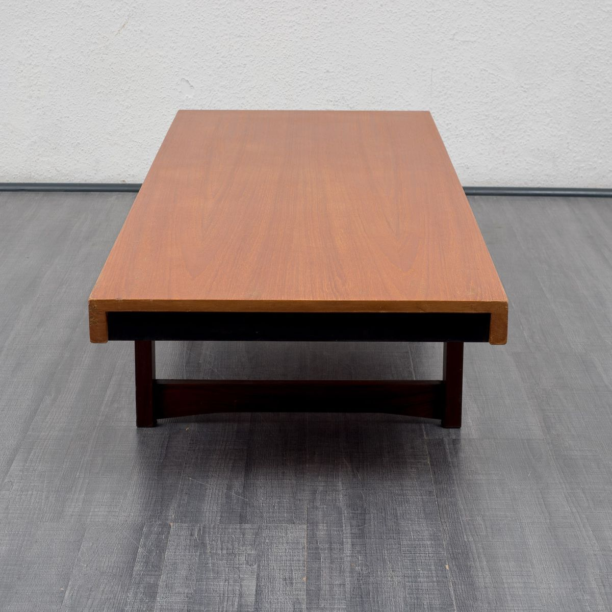 Low Teak Coffee Table 1960s For Sale At Pamono
