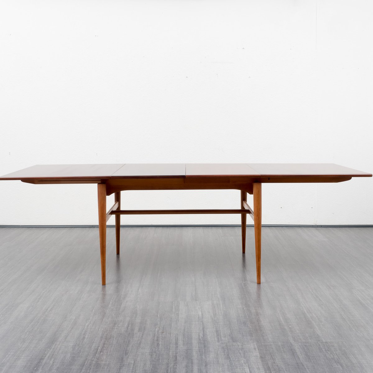 Extendible cherry dining table 1960s for sale at pamono for Cherry dining table