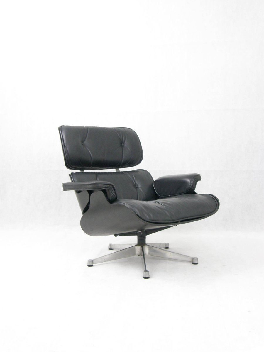 lounge chair by charles ray eames for icf 1970s for. Black Bedroom Furniture Sets. Home Design Ideas