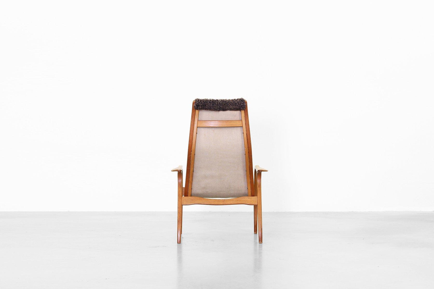 Schwedischer vintage lamino armlehnstuhl mit hoher for Armlehnstuhl design