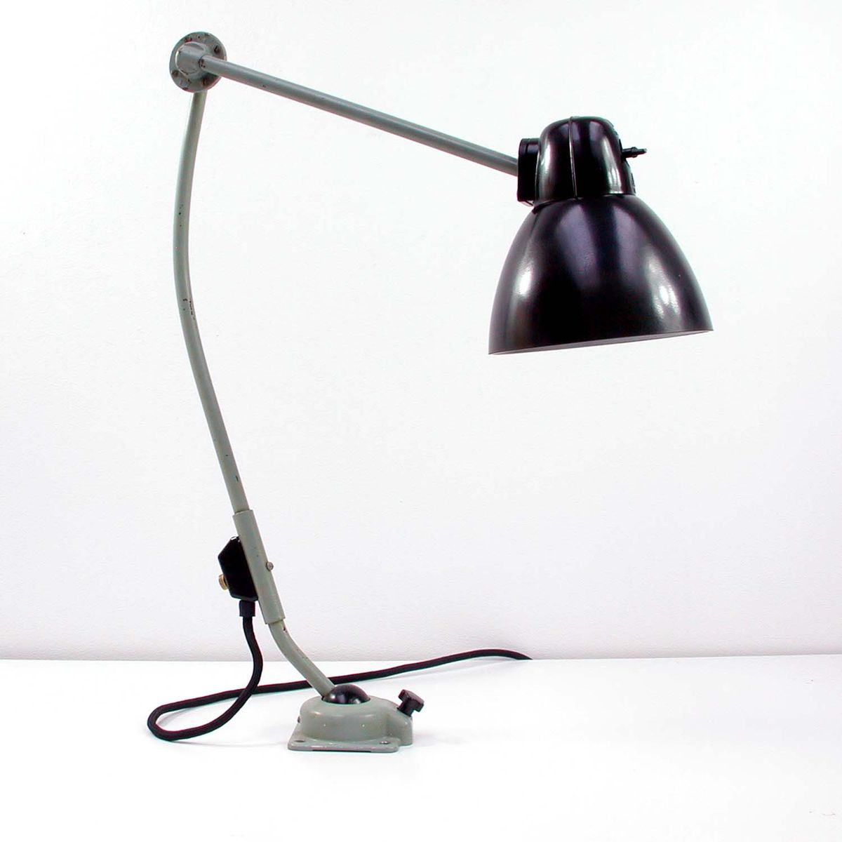 Workbench Lights Vintage: Vintage Industrial Work Lamp From Kandem Leuchte, 1950s