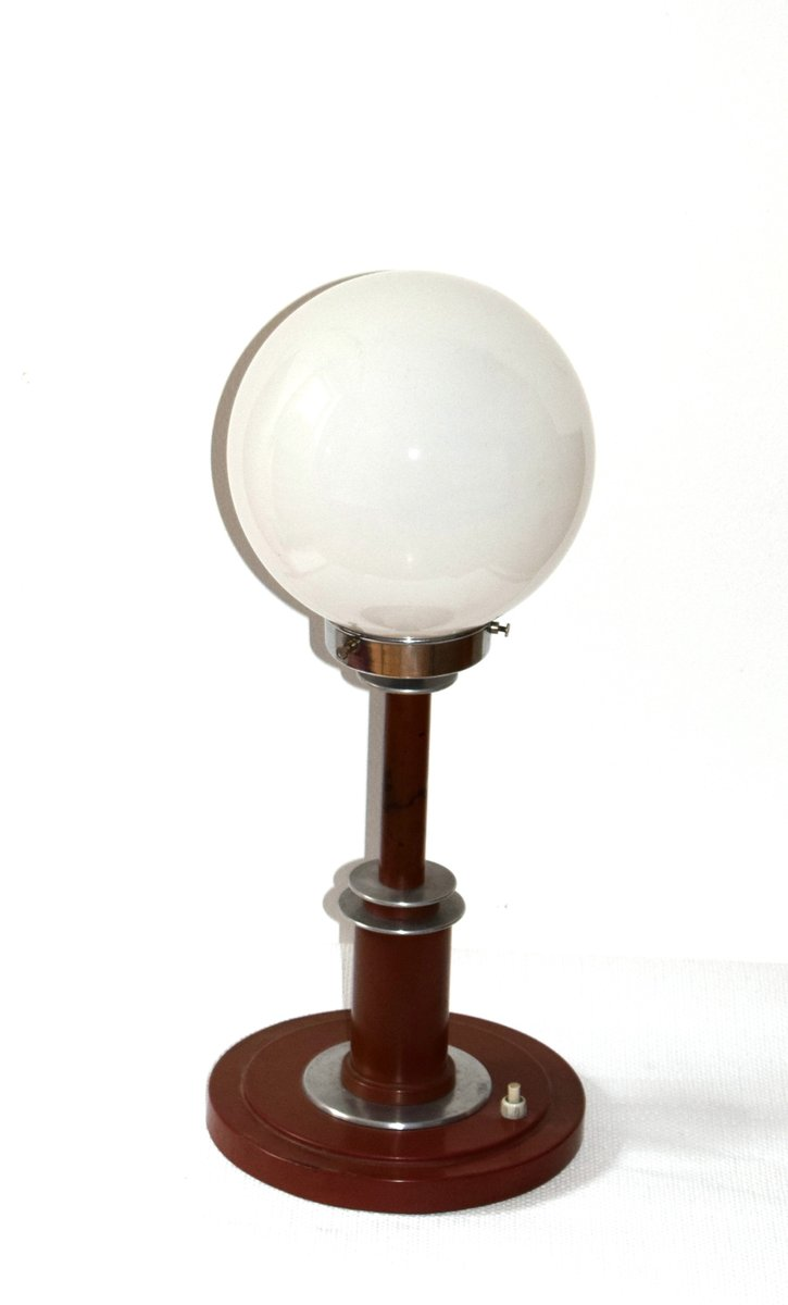 large german bauhaus table lamp 1930s for sale at pamono. Black Bedroom Furniture Sets. Home Design Ideas