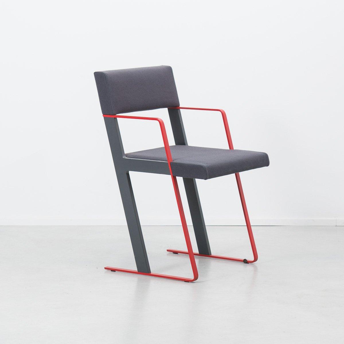 Dutch postmodern chair by dick spierenburg for castelijn for Post modern chair
