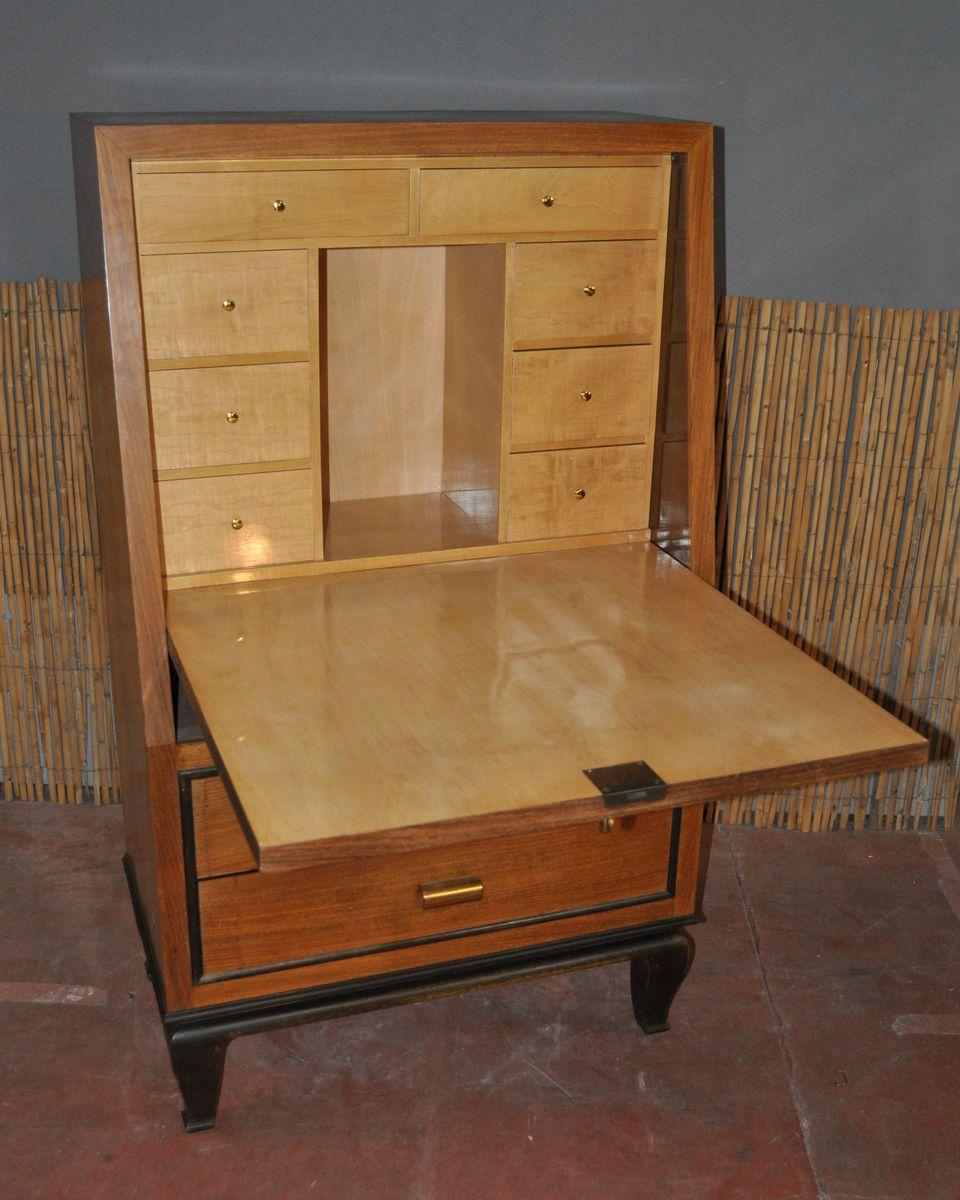 art deco sekret r aus holz bei pamono kaufen. Black Bedroom Furniture Sets. Home Design Ideas