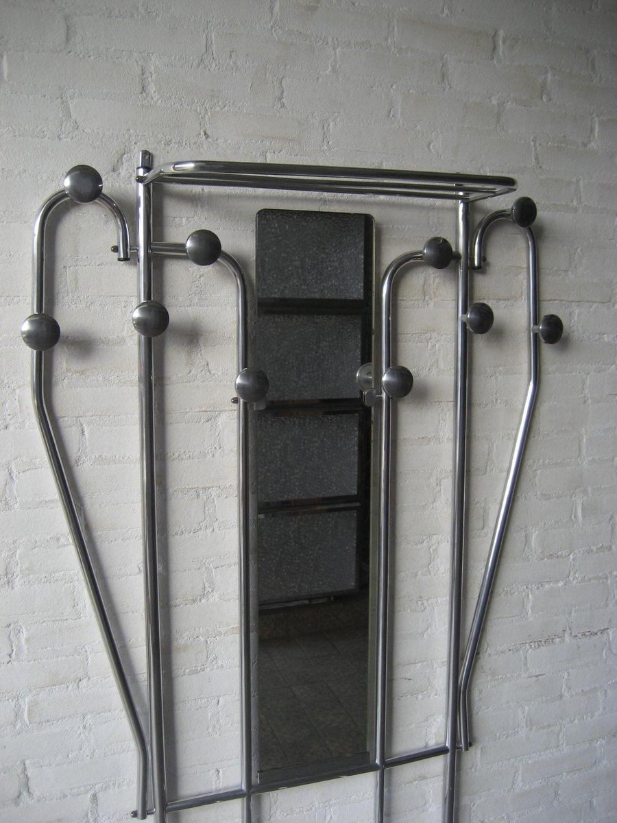 porte manteaux avec porte parapluie et miroir art d co 1930s en vente sur pamono. Black Bedroom Furniture Sets. Home Design Ideas