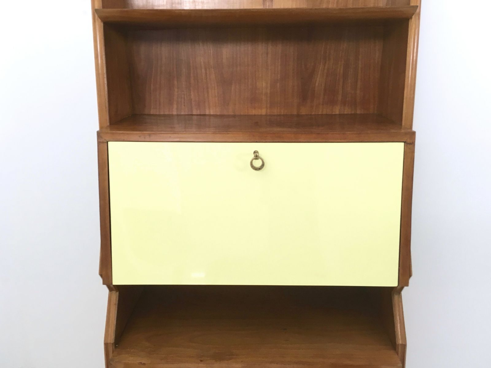 Mid century cherry and formica cabinet 1950s for sale at for 1950 kitchen cabinets for sale