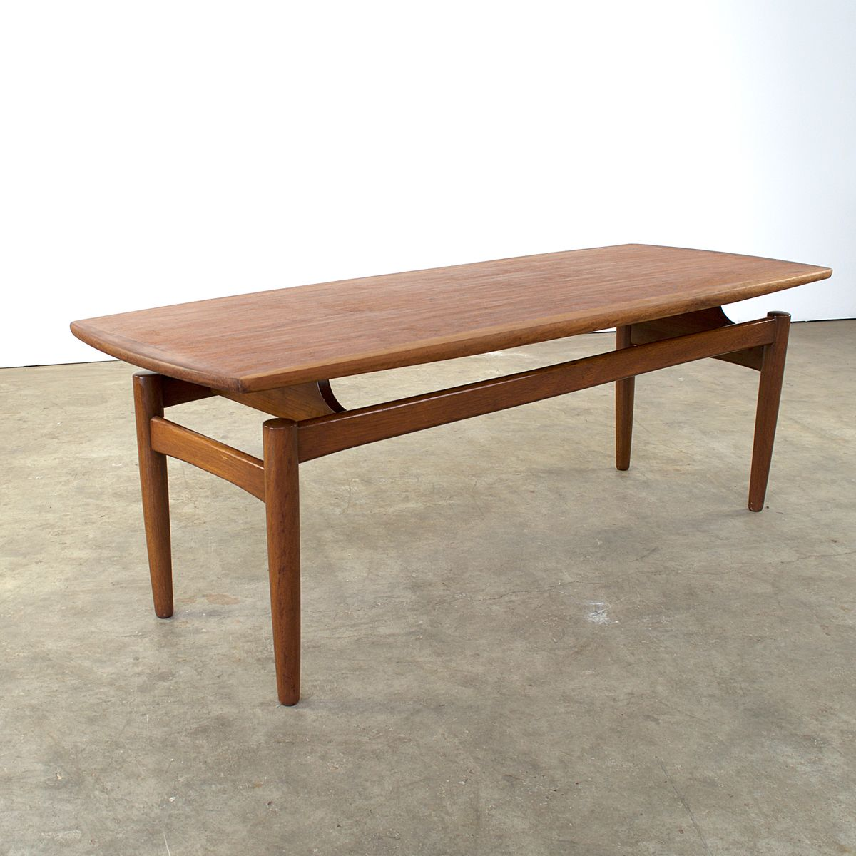 Mid Century Scandinavian Teak Coffee Table 1960s For Sale At Pamono