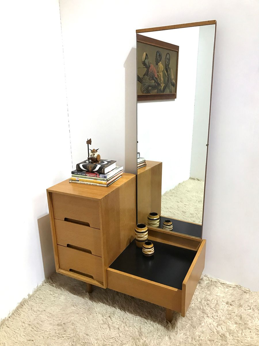 Mid Century Vintage British C Series Dressing Table Hall