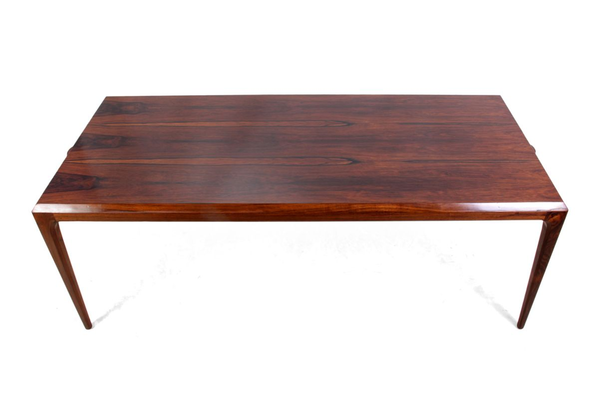 Danish Rosewood Coffee Table By Johannes Anderson For Silkeborg 1960s For Sale At Pamono