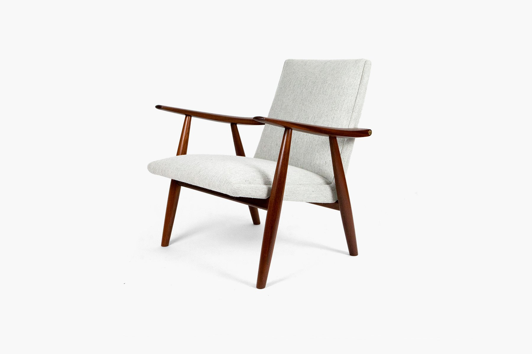 GE 260 Teak Lounge Chair by Hans J Wegner for Getama 1950s for sale at Pamono