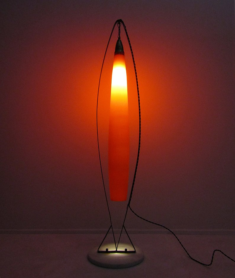 Floor lamp from vistosi 1970s for sale at pamono for 1970s floor lamps