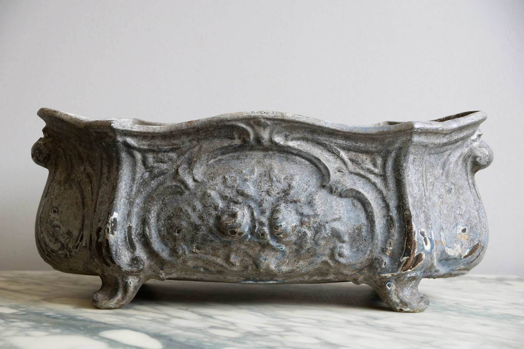 Antique Cast Iron ~ Antique cast iron planter for sale at pamono