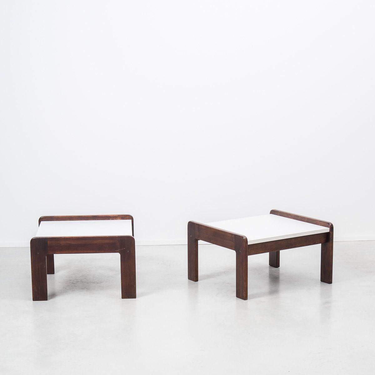 dutch wenge side table by martin visser for t spectrum. Black Bedroom Furniture Sets. Home Design Ideas