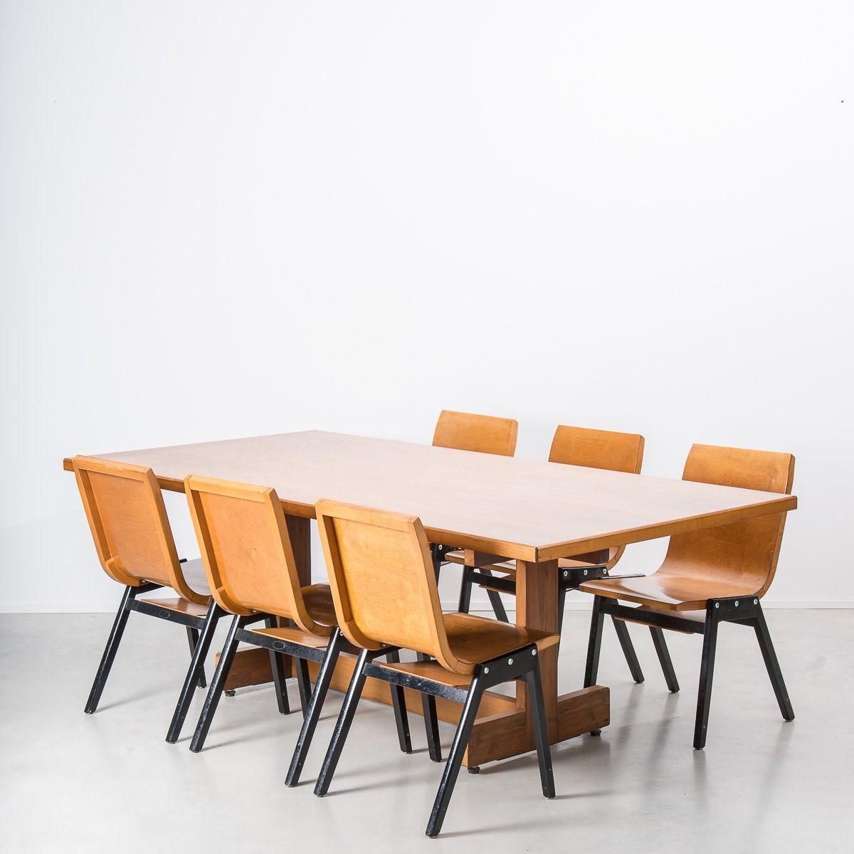 Chaise en bois courb par roland rainer pour e a pollack suisse 1956 - Chaise design suisse ...