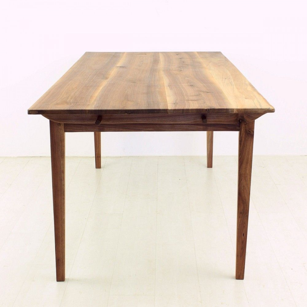 Antique biedermeier style walnut dining table for sale at for Styling a dining table