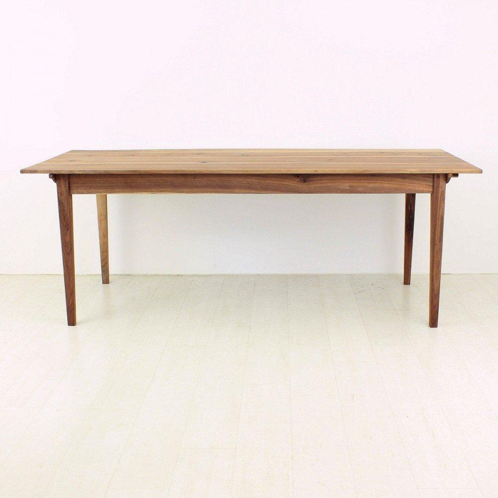 Antique Biedermeier Style Walnut Dining Table for sale at  : antique biedermeier style walnut dining table 2 from www.pamono.co.uk size 1000 x 1000 jpeg 90kB
