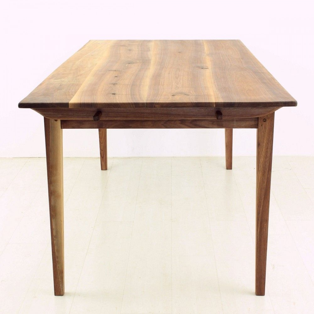 Antique Biedermeier Style Walnut Dining Table For Sale At