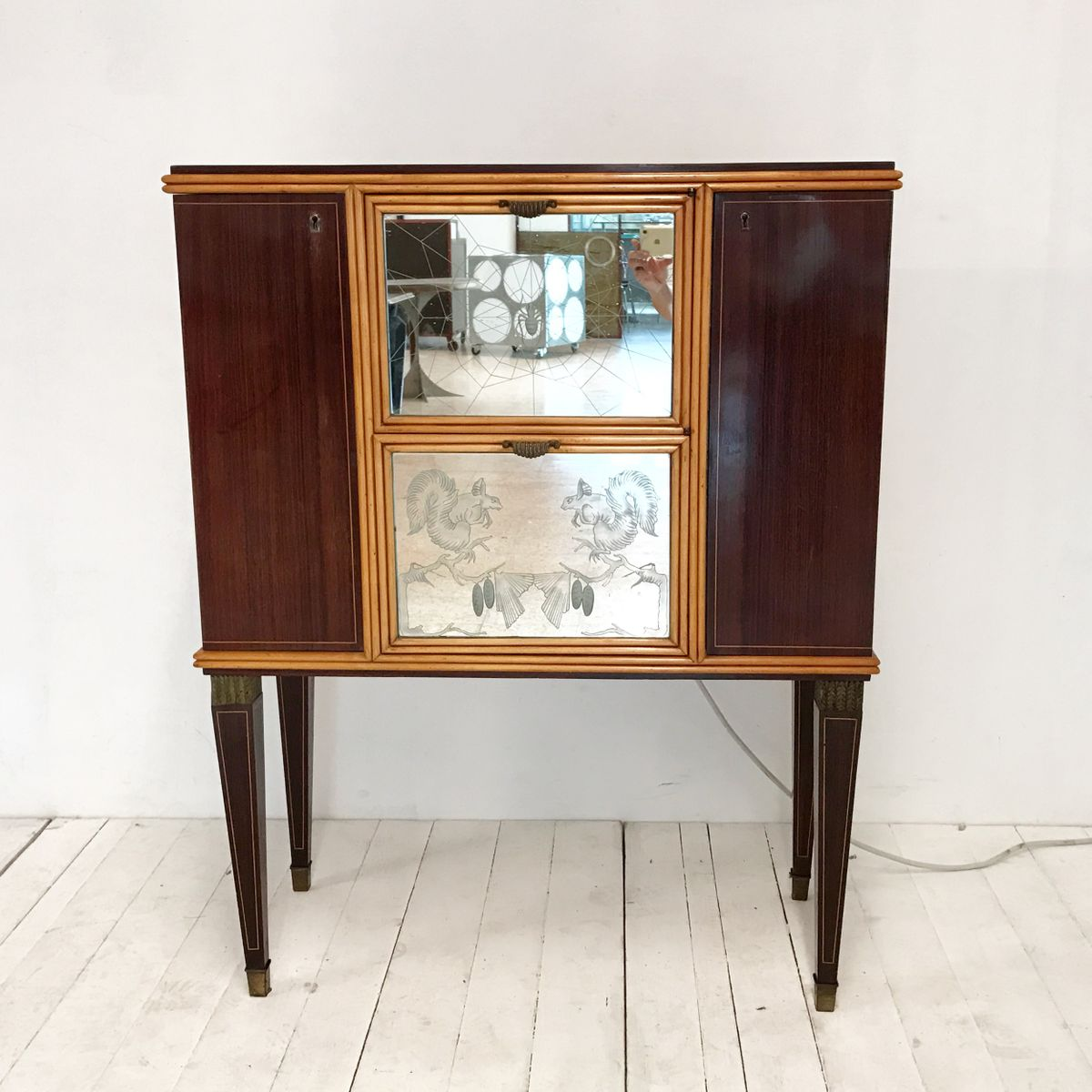Italian bar and music cabinet 1950s for sale at pamono - Mobili anni 50 ...
