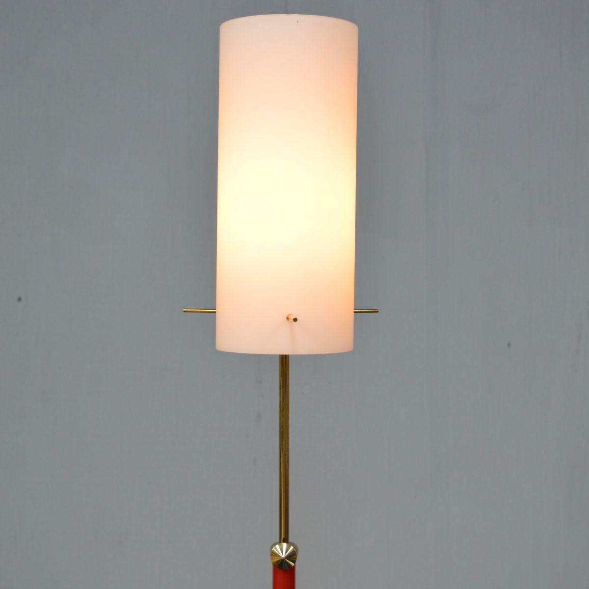 Italian opaline floor lamp 1950s for sale at pamono for 1950s floor lamps