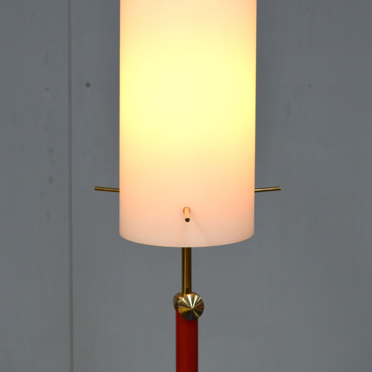 Italian opaline floor lamp 1950s for sale at pamono for 1950 floor lamp