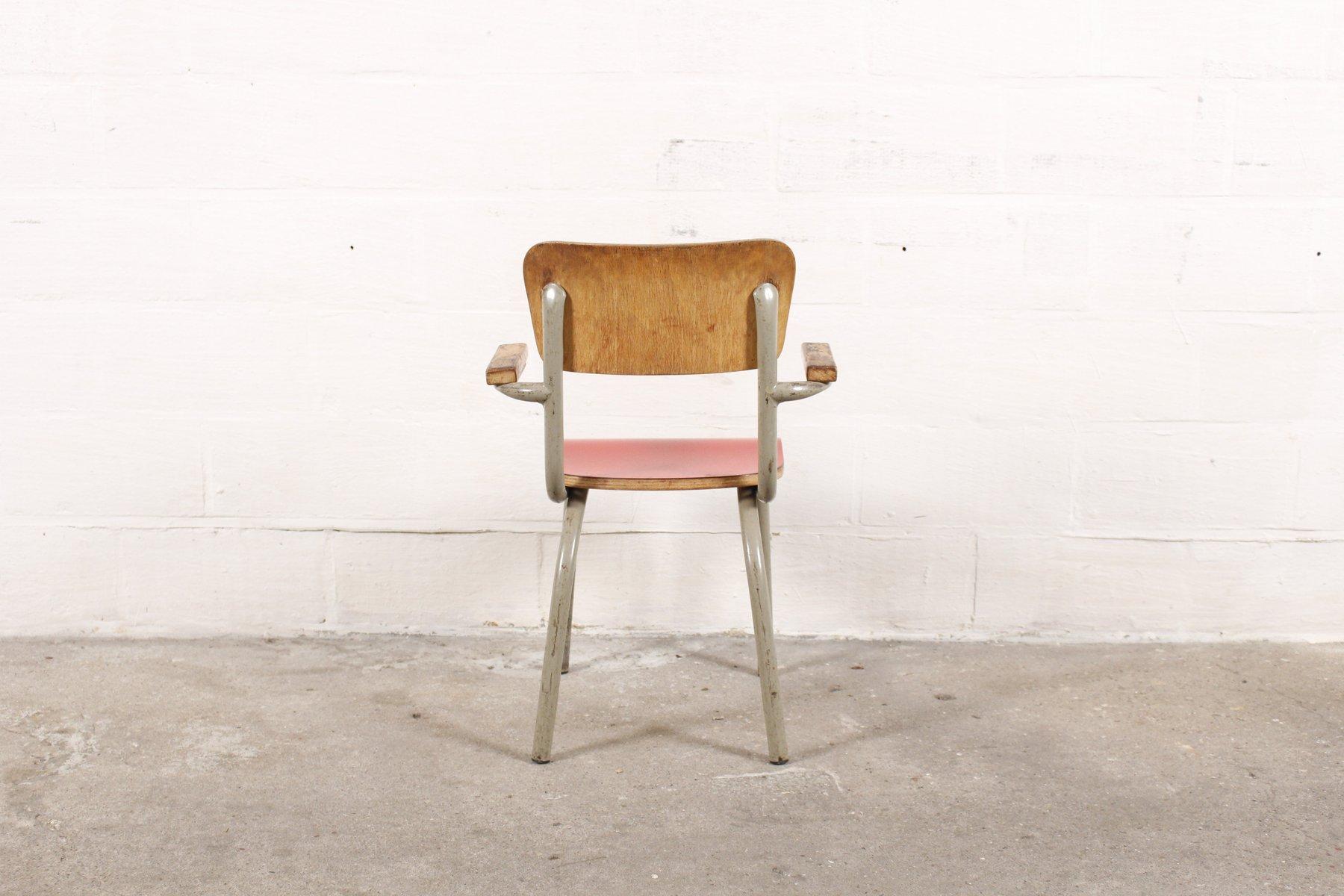 Mid Century Children s Chair by Willy van der Meeren for Tubax for