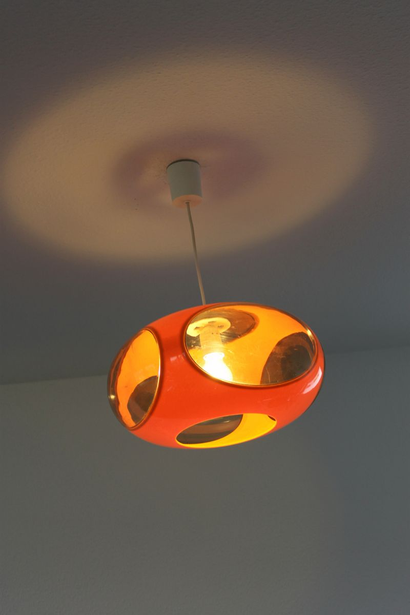 space age ufo lamp by luigi colani for sale at pamono. Black Bedroom Furniture Sets. Home Design Ideas