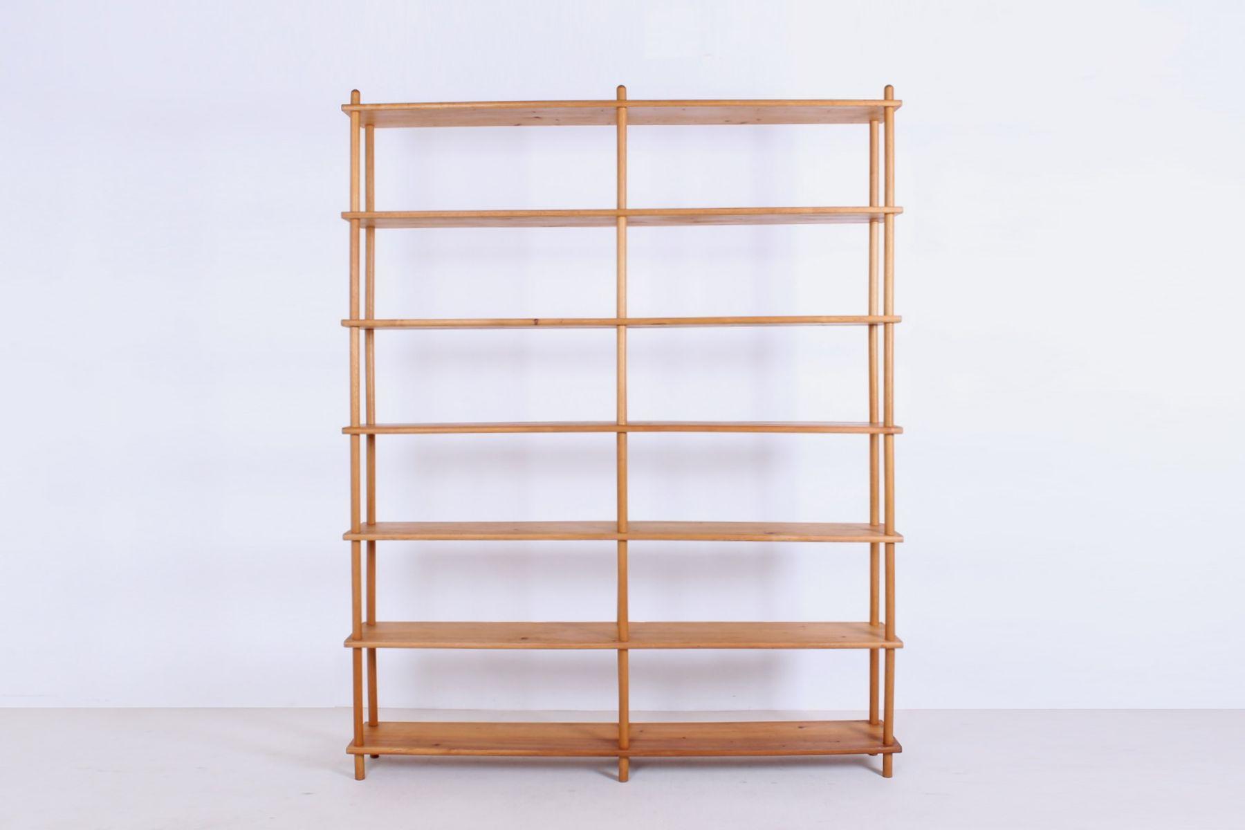 kiefernholz regal von gouda den boer bei pamono kaufen. Black Bedroom Furniture Sets. Home Design Ideas