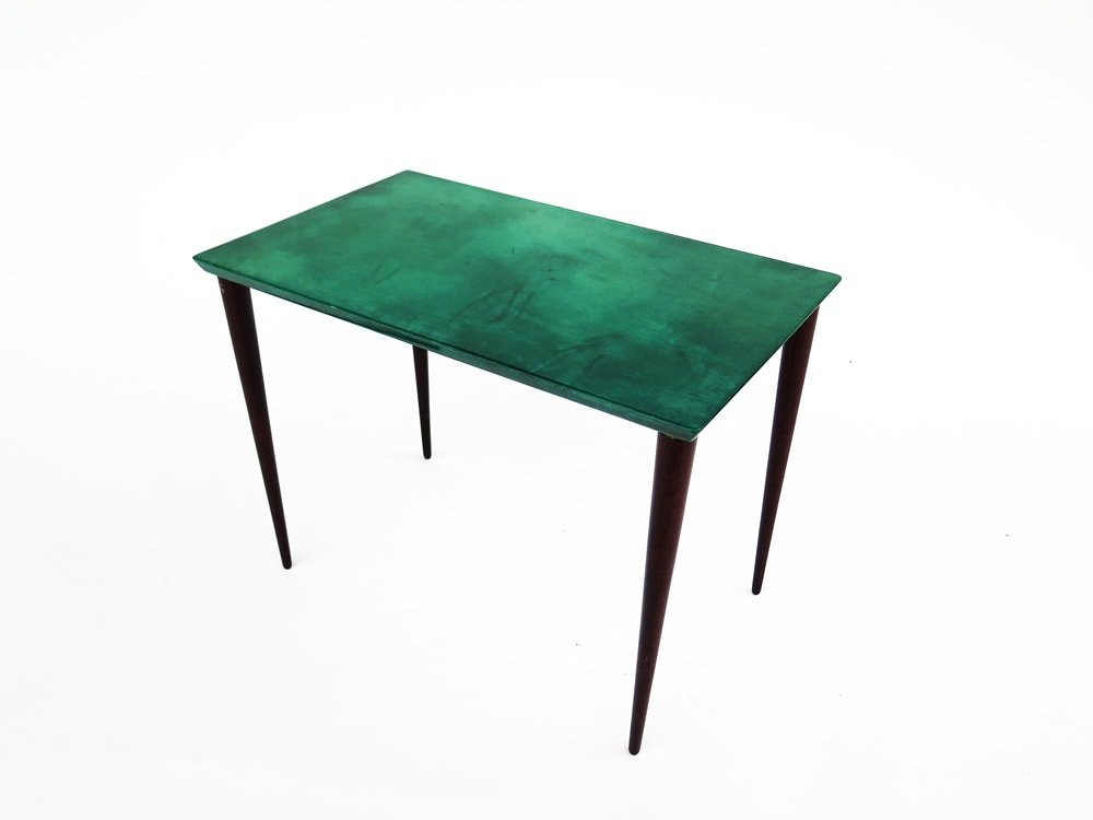 table d'appoint verte
