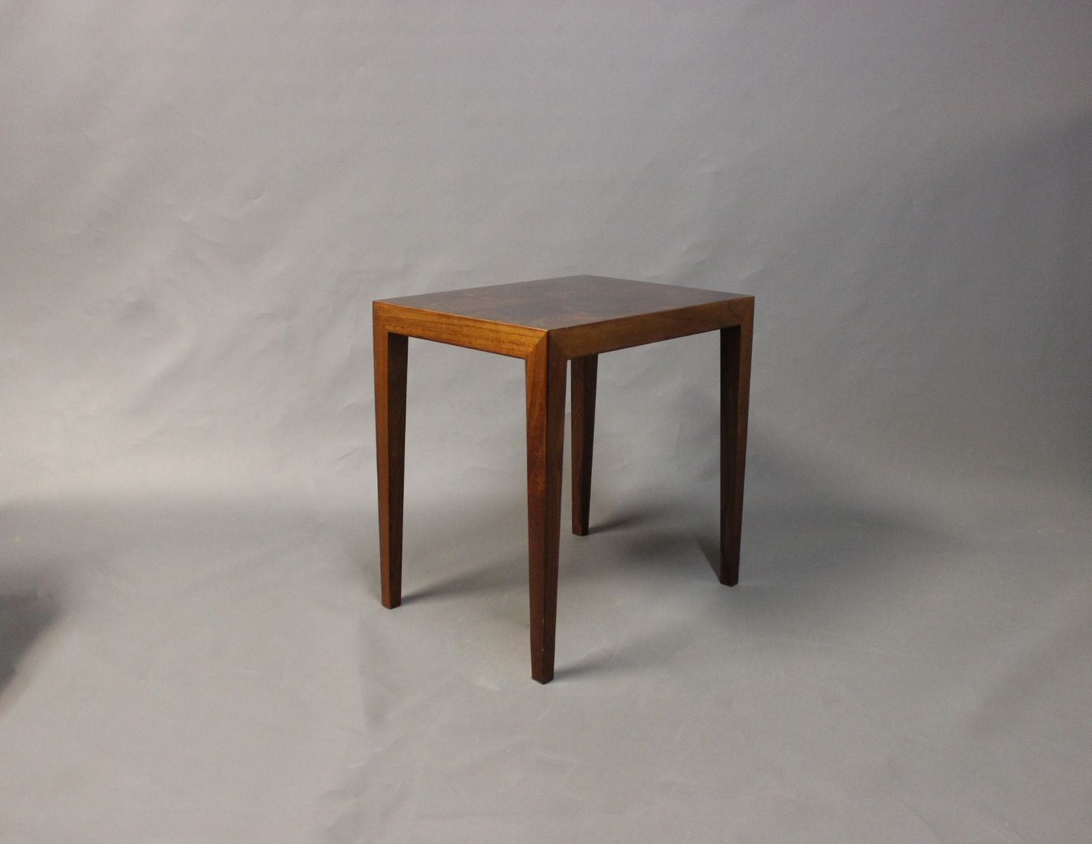 Charming Small Danish Side Table By Severin Hansen For Haslev, 1960s