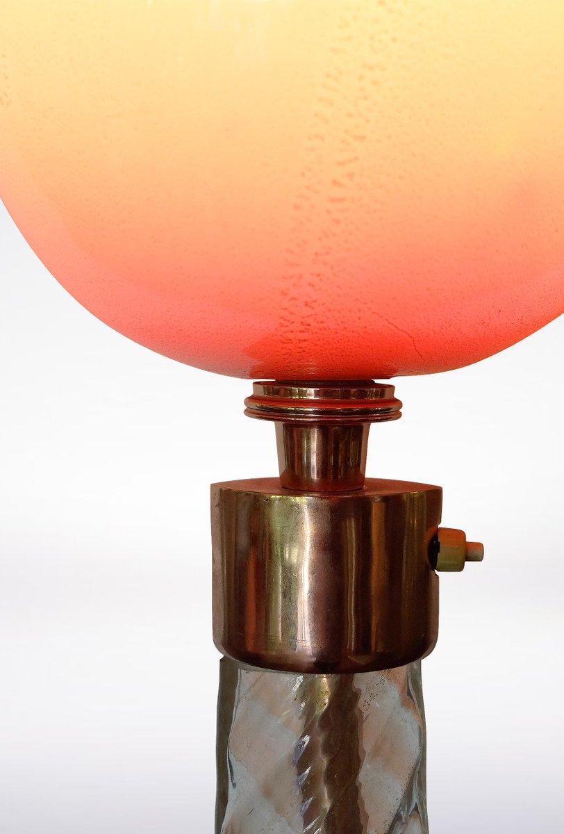 murano glas stehlampe von tomaso buzzi f r venini 1930er bei pamono kaufen. Black Bedroom Furniture Sets. Home Design Ideas