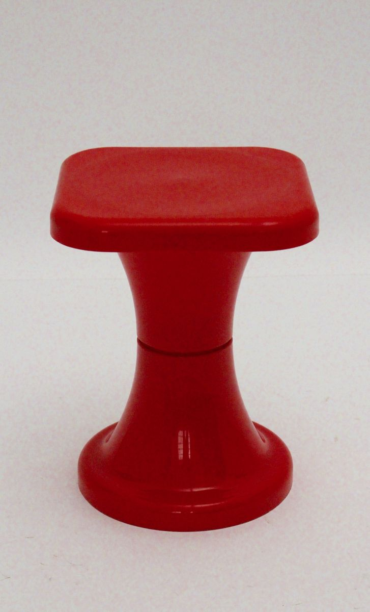 Red Plastic Stool 1970s & Red Plastic Stool 1970s for sale at Pamono islam-shia.org